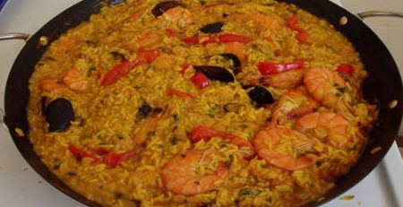 Секреты приготовления испанской паэльи