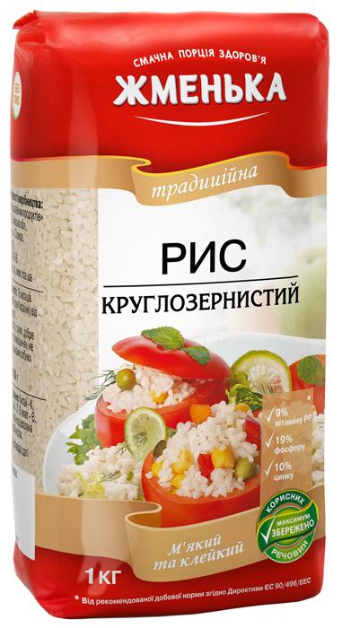 рис круглозернистый