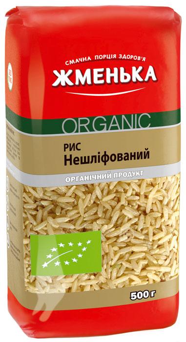 рис нешлифованный органический