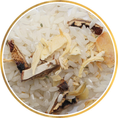 Різотто з білими грибами